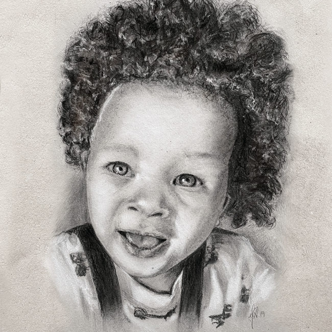 portraettegner_boerneportraettegning_barn_unikgaveide_barnedaab_bryllup_julegave